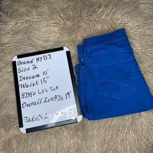 NYDJ Size 2 denim cutoffs